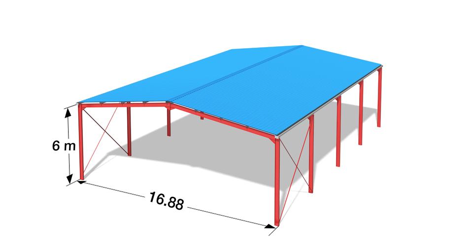 great amazing le march du btiment industriel de luabri mtallique monopente et du hangar. Black Bedroom Furniture Sets. Home Design Ideas